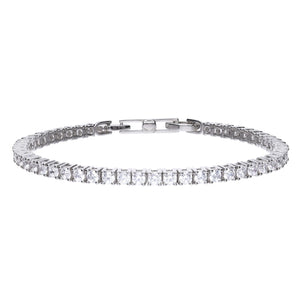 Claw Set Tennis Bracelet