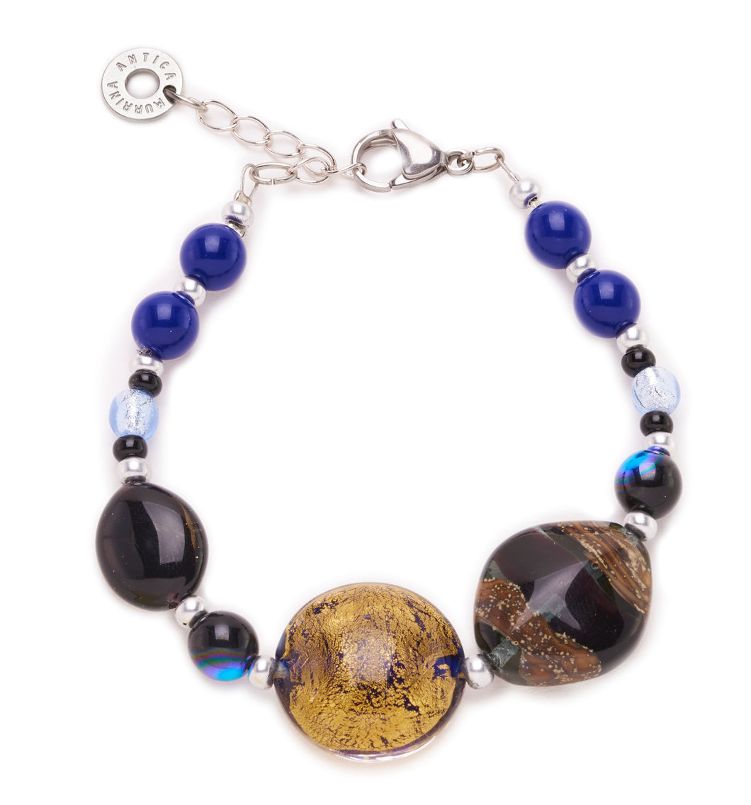 Sofi Bracelet Top Black/Blue