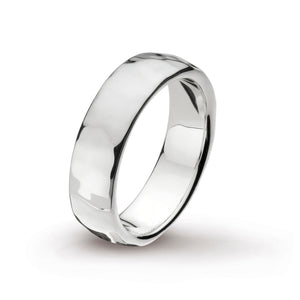 Coast Pebble Hammered 6mm Band Ring