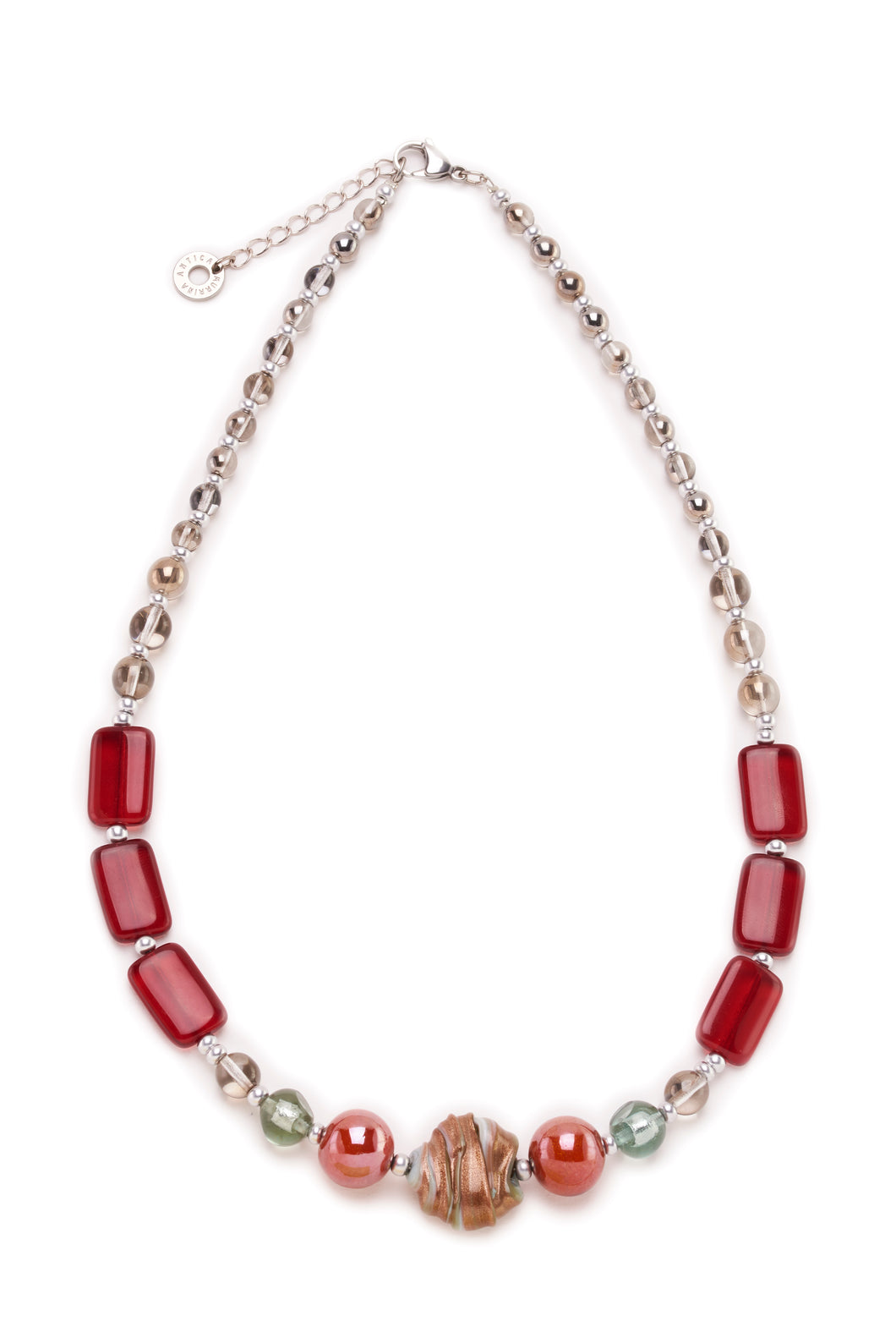 Megan Necklace Red