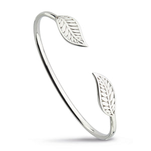 Blossom Eden Twin Leaf Bangle