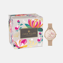 Load image into Gallery viewer, Butterfly Rose Gold Mesh Watch