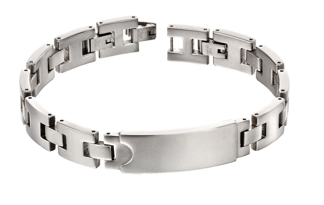 Steel Section ID Bracelet