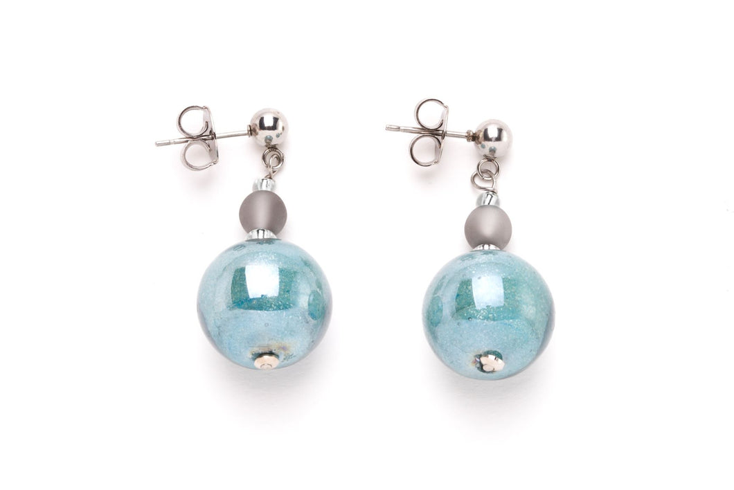 Joy Pendant Earring Light Blue