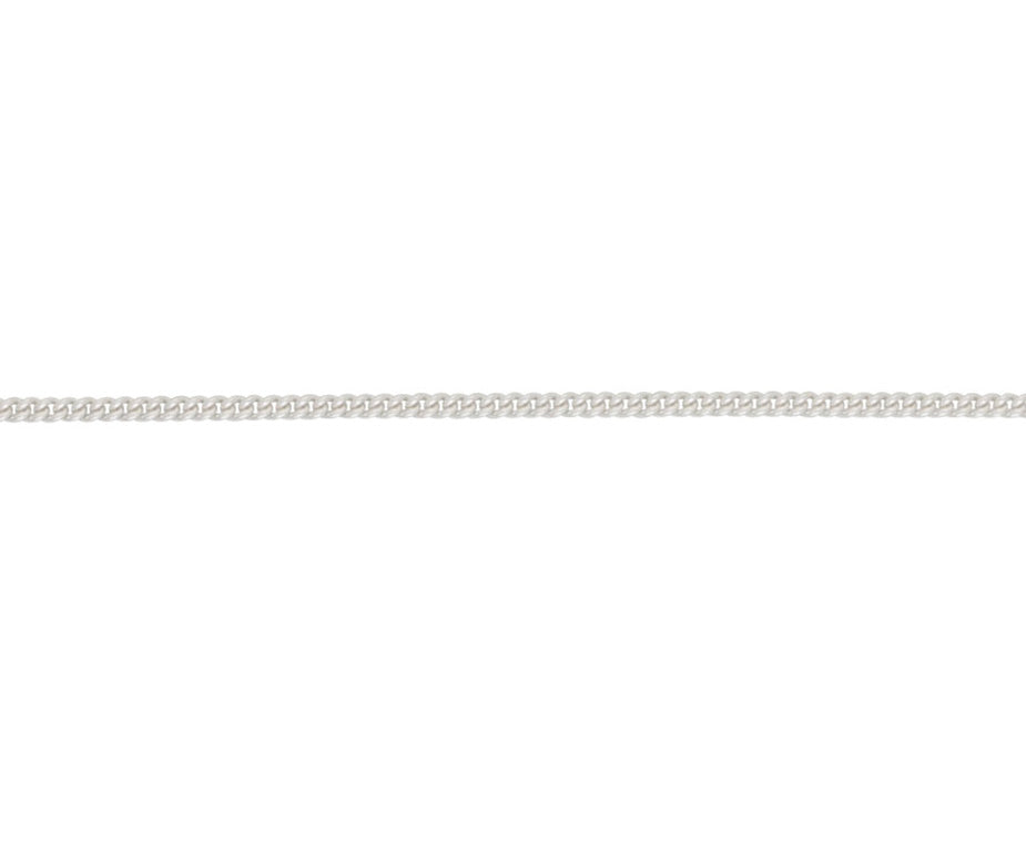 Sterling Silver Filed Curb Chain