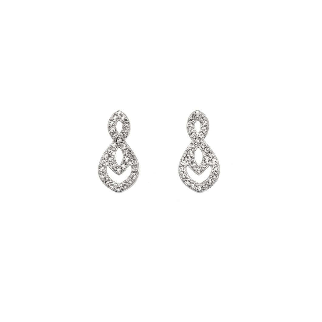 Harmony White Topaz Earrings