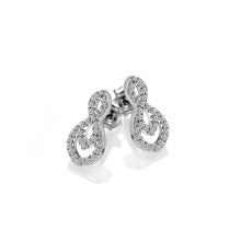 Load image into Gallery viewer, Harmony White Topaz Earrings