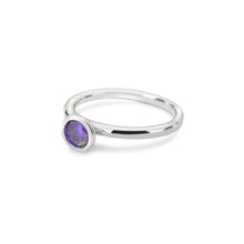 Load image into Gallery viewer, Scintilla Violet Spirituality Ring