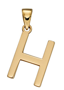 9ct Yellow Gold Initials