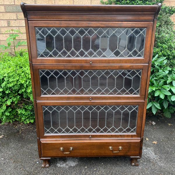Victorian Glazed Stacking Bookcase