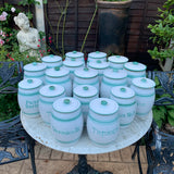Collection of 18 Bourne Denby Kitchen Storage Jars