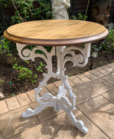Victorian Cast Iron Base Table