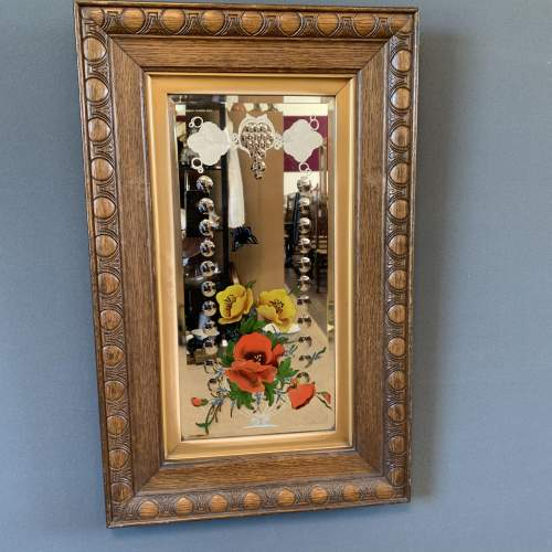 Gypsy Mirror in Oak Frame
