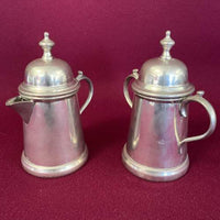 4 pc Pewter Coffee Set