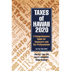 Taxes of Hawaii 2020