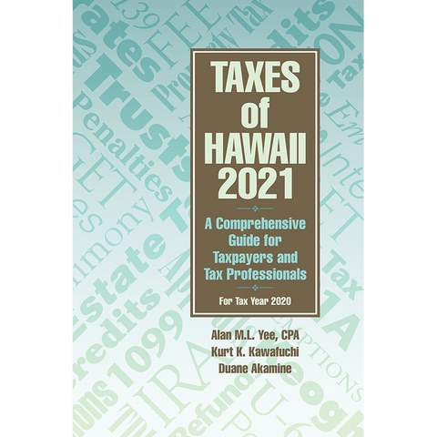 Taxes of Hawaii 2021
