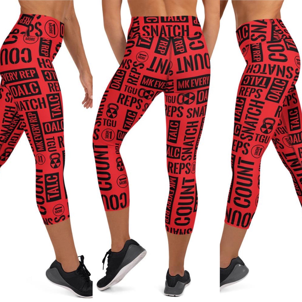 Kettlebell Sport Acronyms Leggings and Shorts