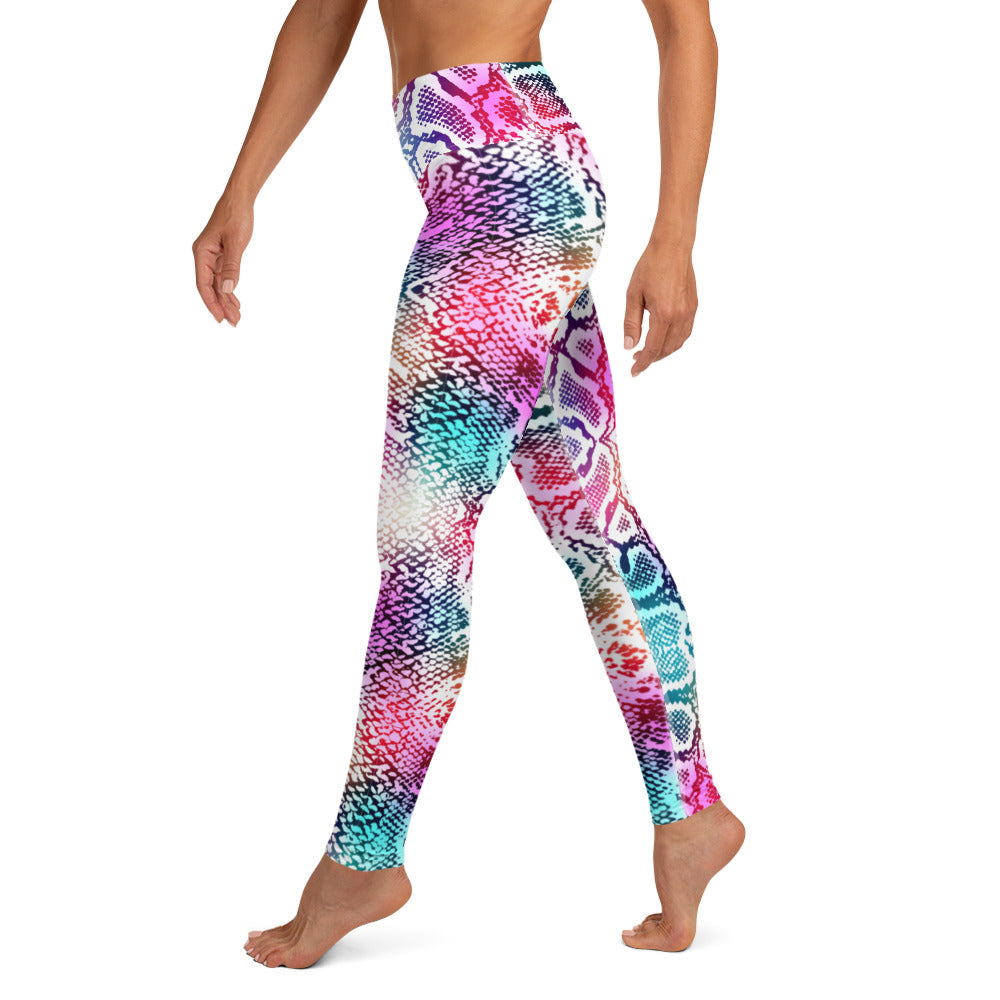 Prism Snake Skin Leggings