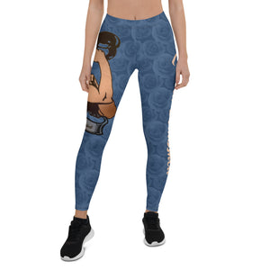 Rosie The Riveter Low Rise Leggings