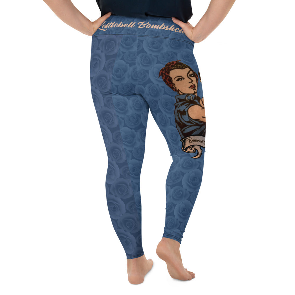 The Rosie the Riveter Plus Size Leggings