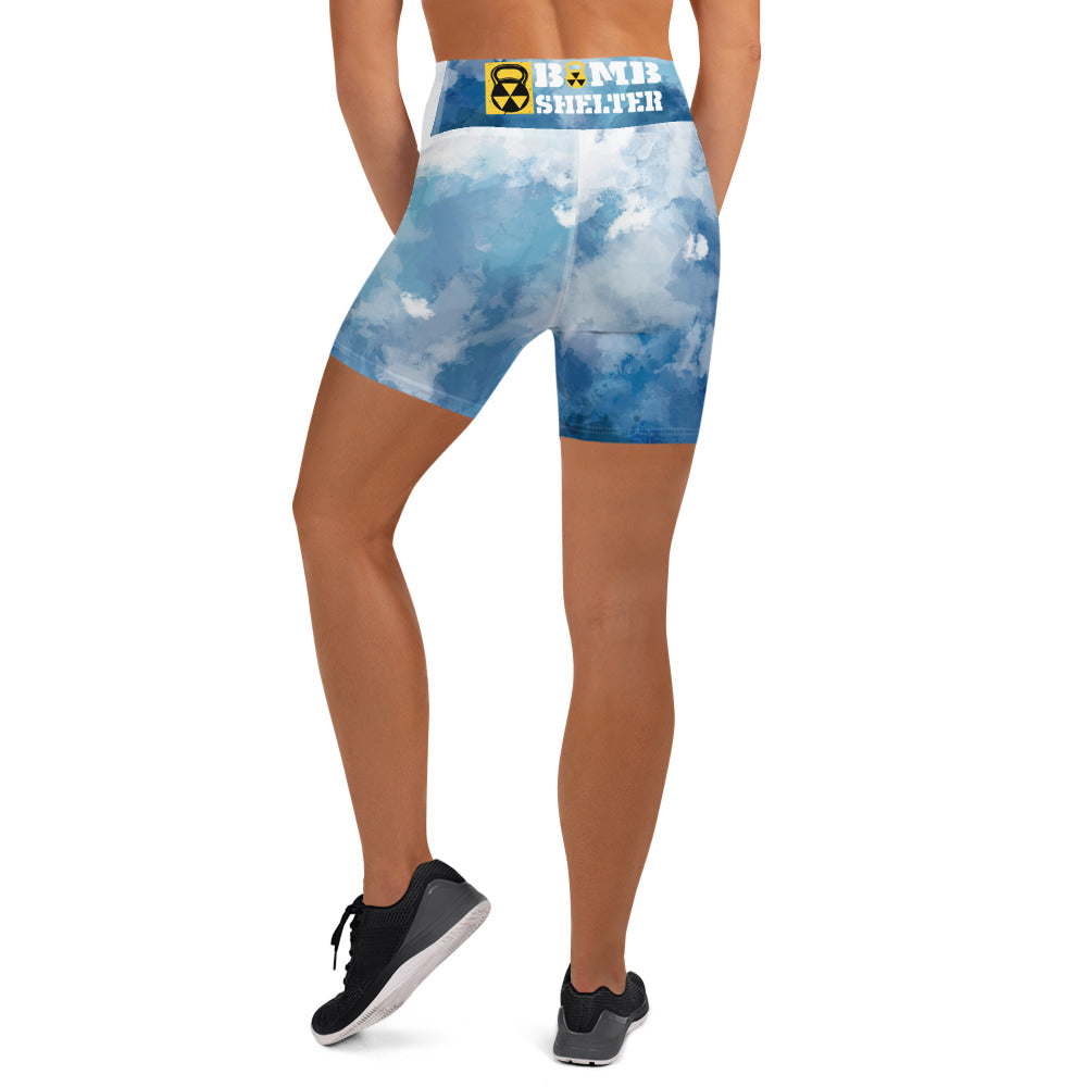 Water Color Bomb Shelter  Shorts