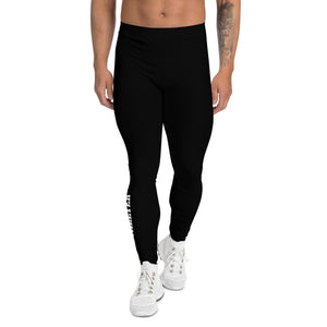 Men's Black Logo Leggings