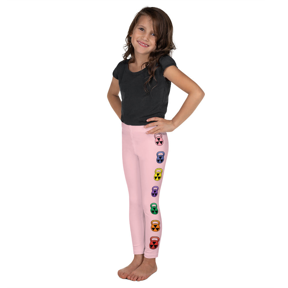 Kid's Rain-Bell Pink Leggings