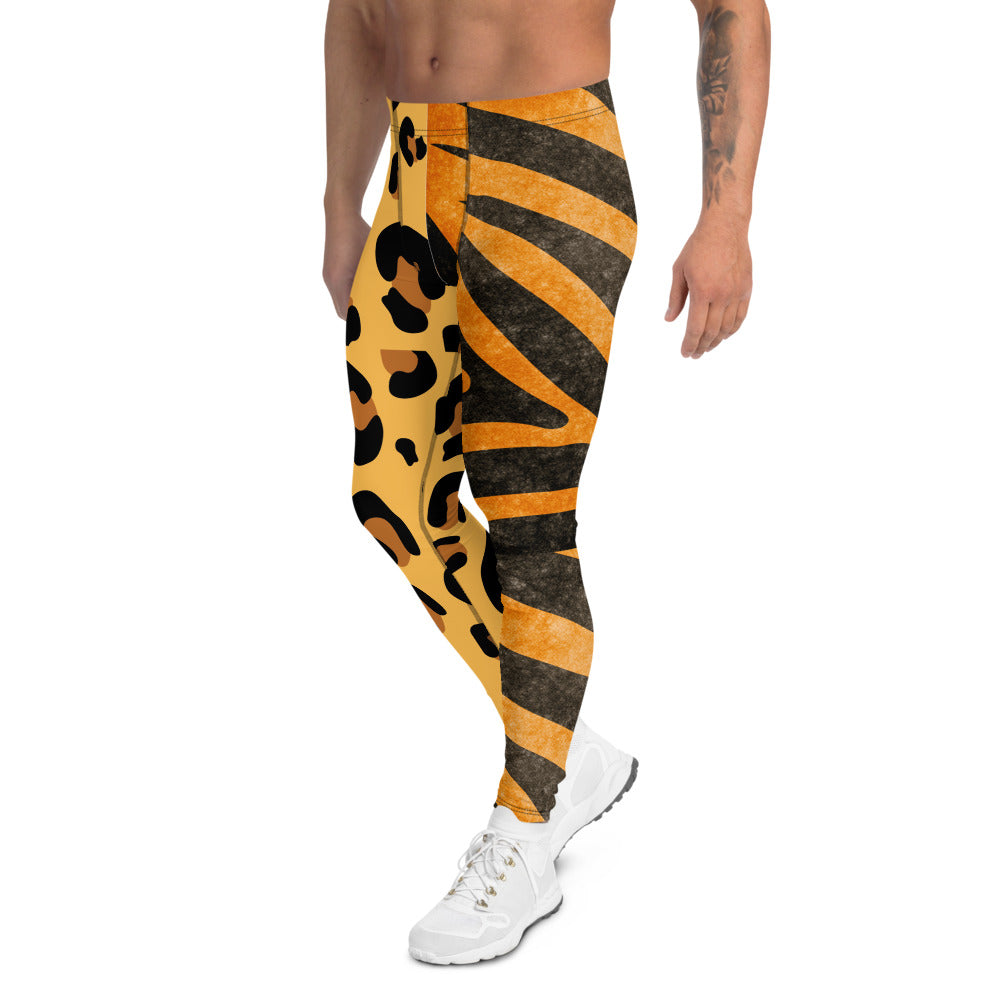 Men's Animal Print Leggings