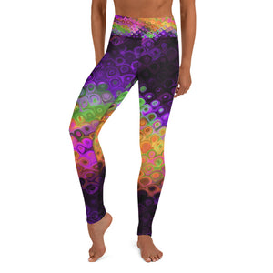 Purple Haze High Waist Leggings