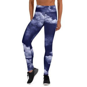 Nighttime Storm Clouds Leggings