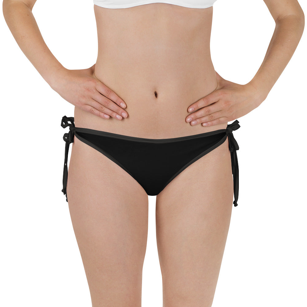 White/Black Bathing Suit Bottoms