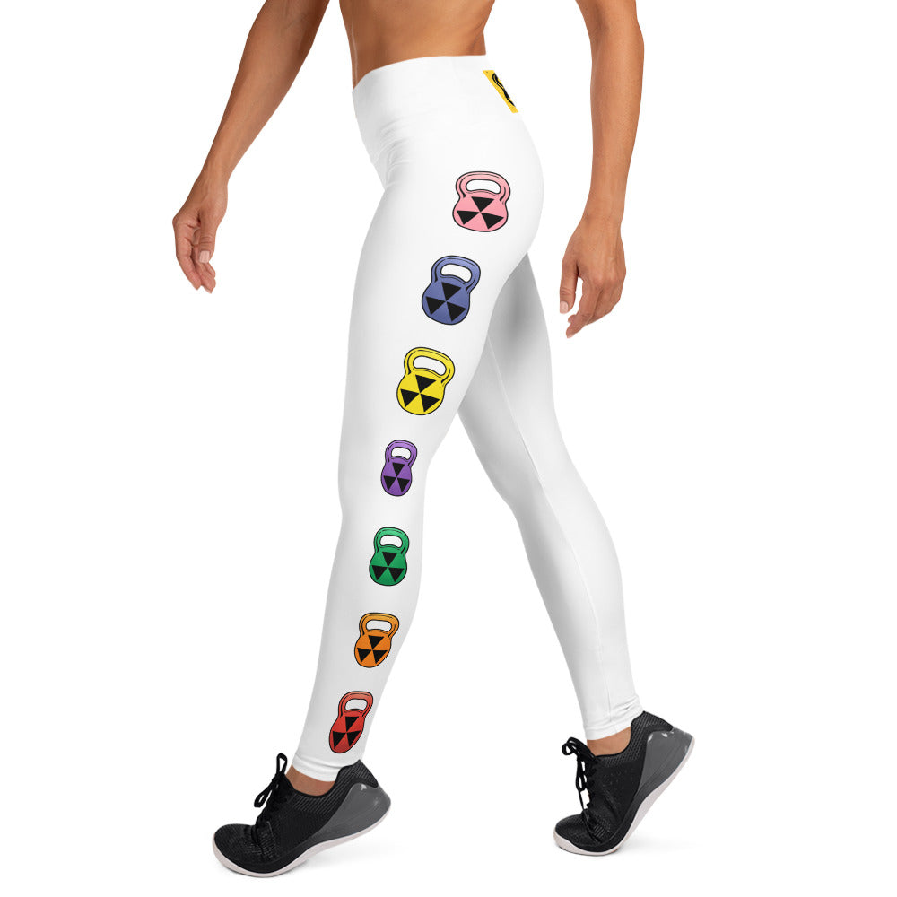 The Rain-Bell White Leggings
