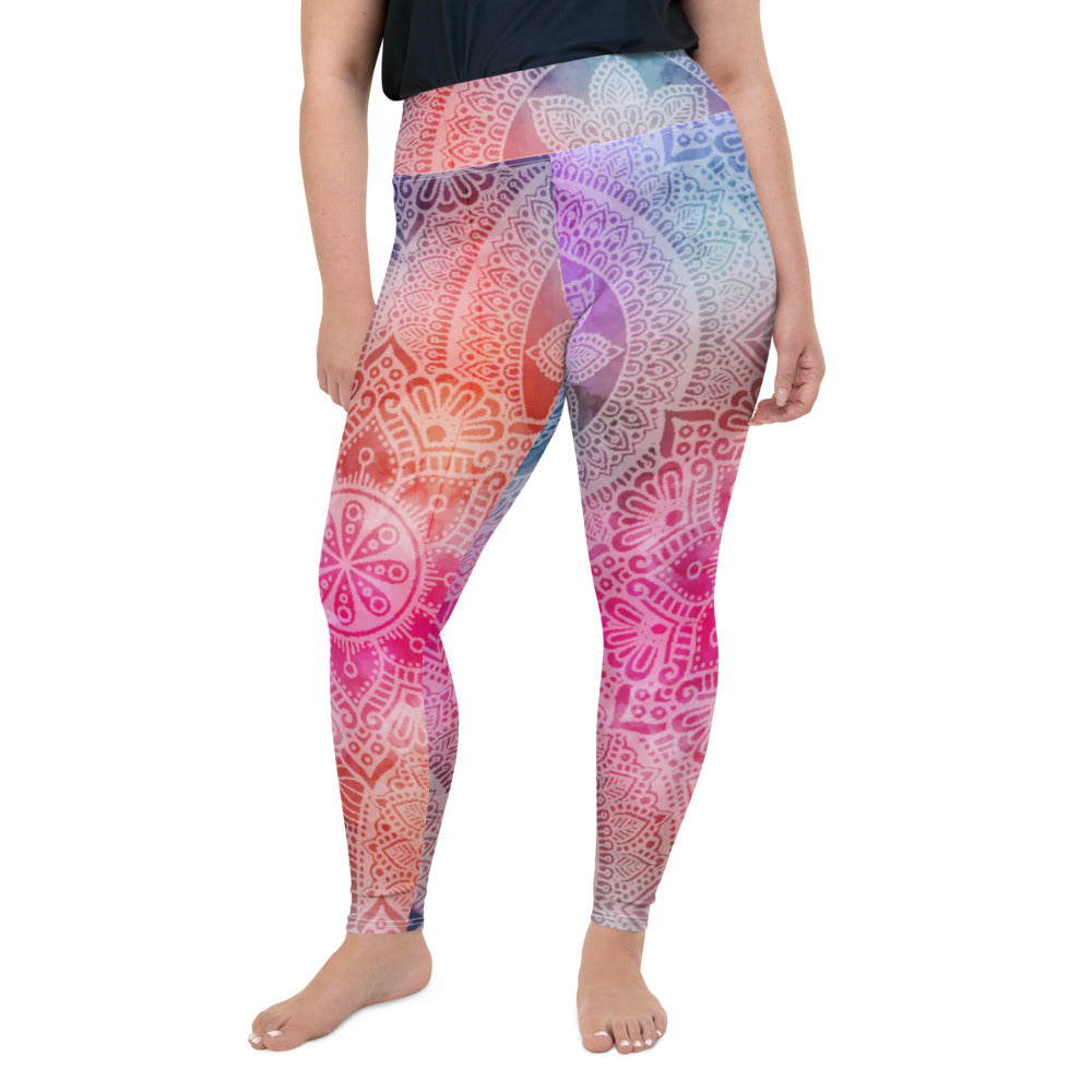 Sanskrit Plus Size Leggings