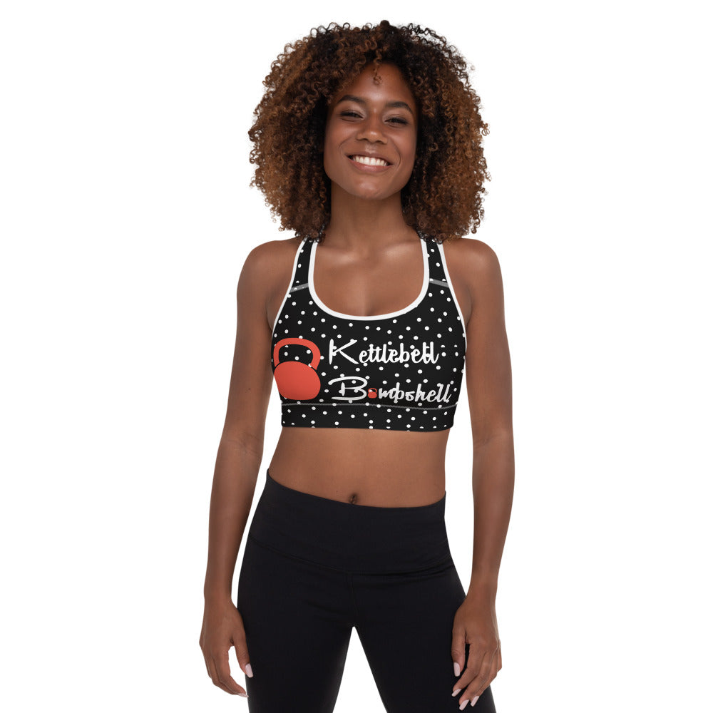 Cherries and Polka Dots Logo Sports Top