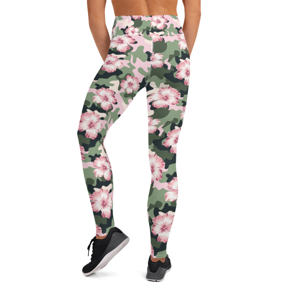 Flower Power Camouflage Leggings