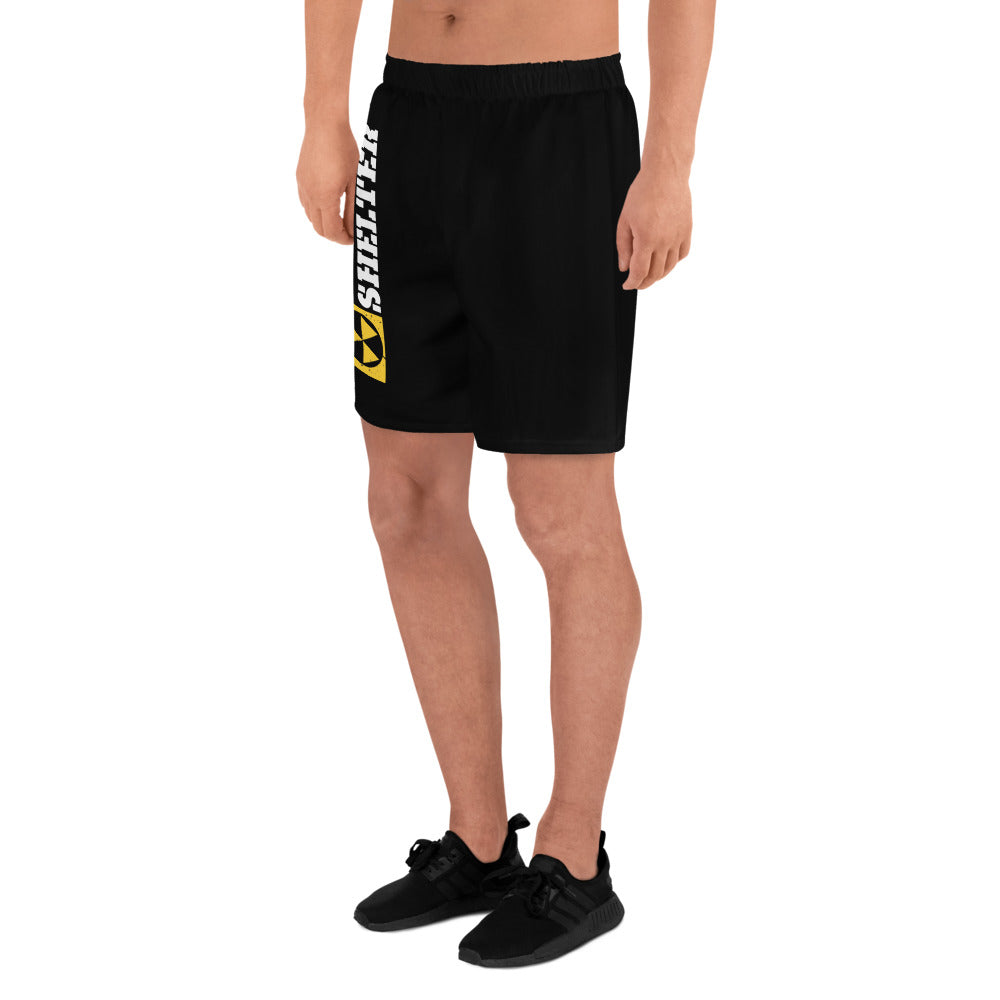 Bomb Shelter Men's Logo Shorts Black/White