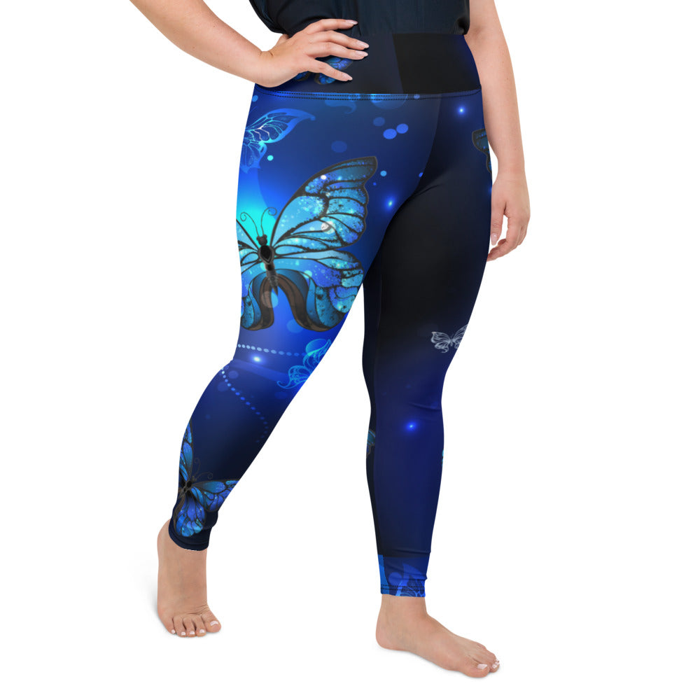 Butterfly  Plus Size Leggings