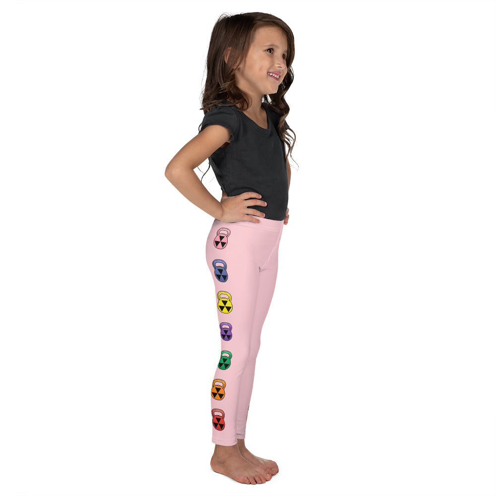 Child Rain-Bell Pink Leggings