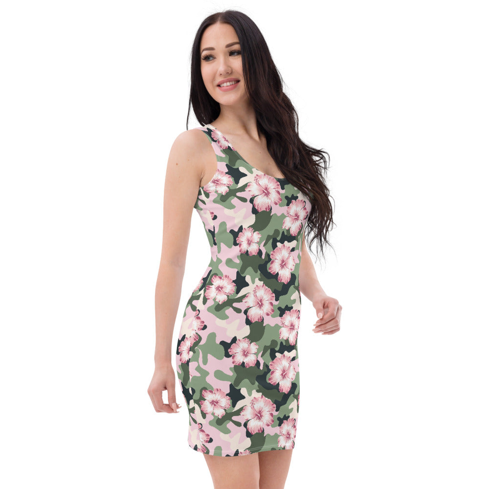 Flower Power Camouflage  Dress