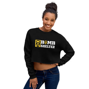 Ladies Bomb Shelter Crop Sweatshirt