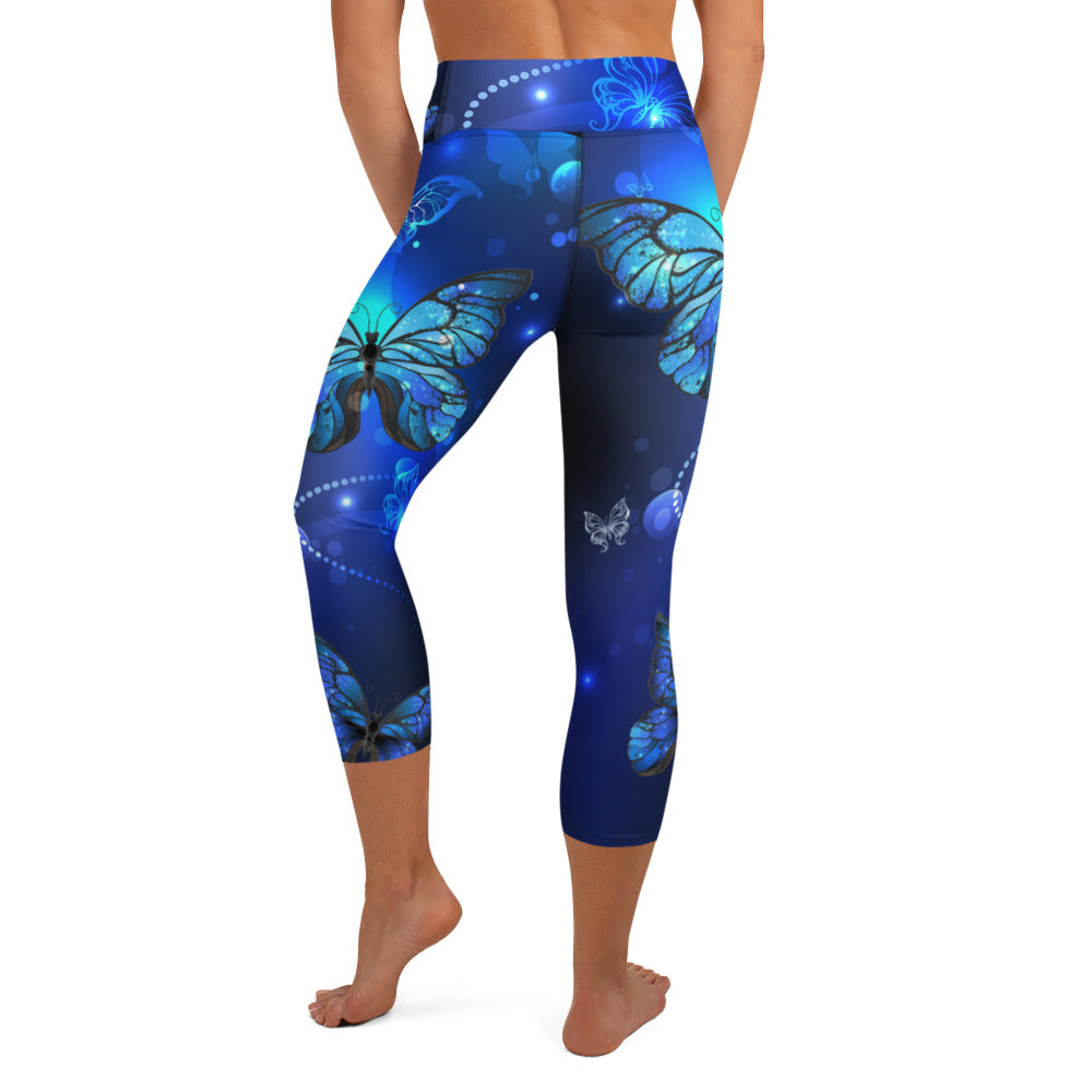 Butterfly Capri Leggings