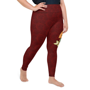 The Veronica Plus Size Leggings