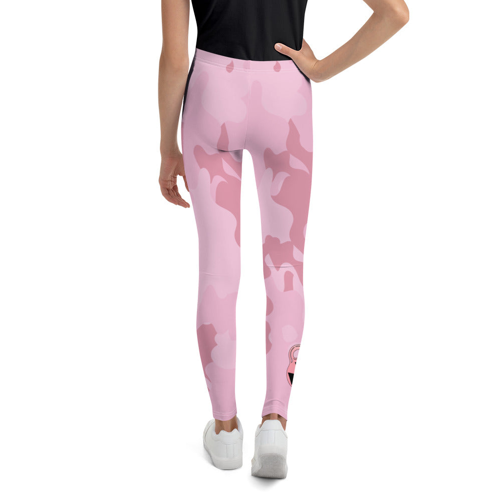 Girl's Pink Camouflage Bomb Shelter Leggings