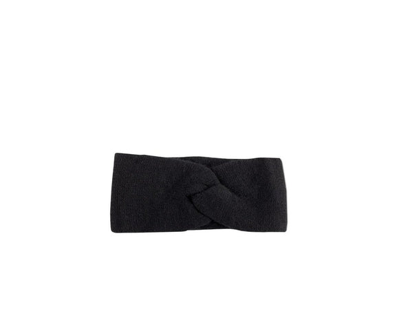 Cashmere Headband- Black