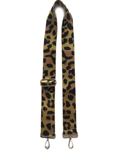 "Leopard Print Adjustable 2"" Bag Strap-ASSORTED COLORS!"