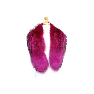 Genuine Fur Clip-On Collar