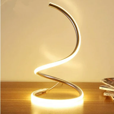 Rising Spiral Table Lamp - Parent Decor