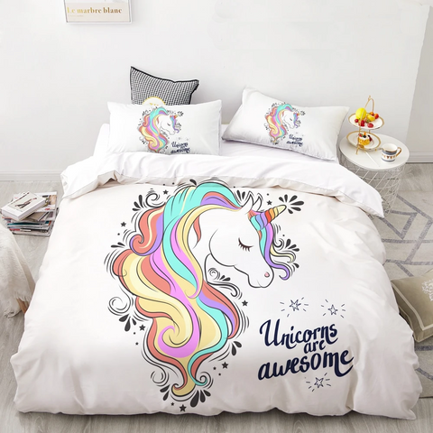 Unicorn Bed Set - Parent Decor