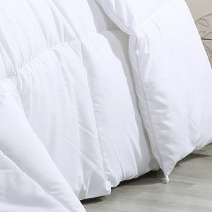 White Utopia All Season Comforter - Furnish Fresh Canada Home Furnishings & Great Deals.