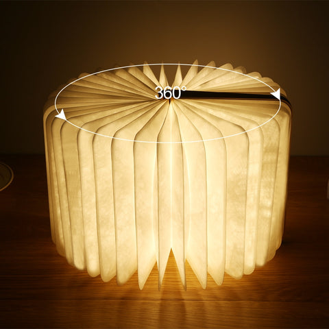 Portable Foldable and Dimmable Book Night Light - Parent Decor